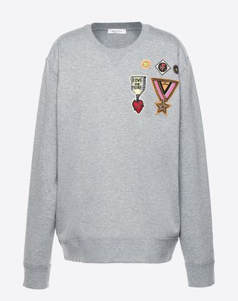VALENTINO Sweatshirt U PV3MF08N3TV 080 f