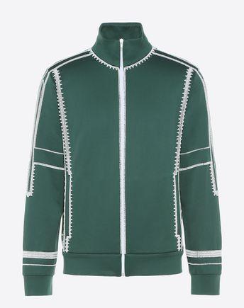 VALENTINO Sweatshirt U Camoushuffle crew-neck sweatshirt f