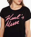 KARL LAGERFELD Karl'S Muse T-Shirt 8_e