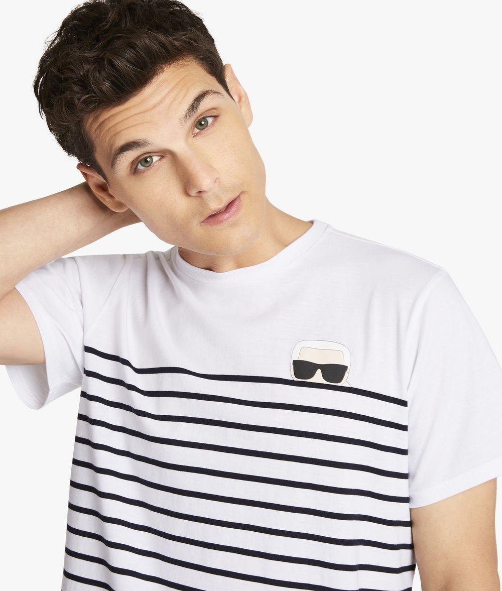 KARL LAGERFELD Karl ikonik stripe T-shirt Man f