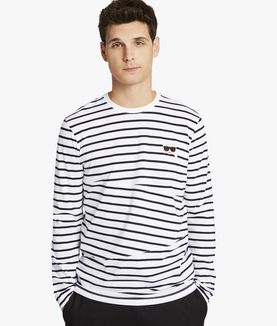 KARL LAGERFELD KARL LONG-SLEEVED STRIPE