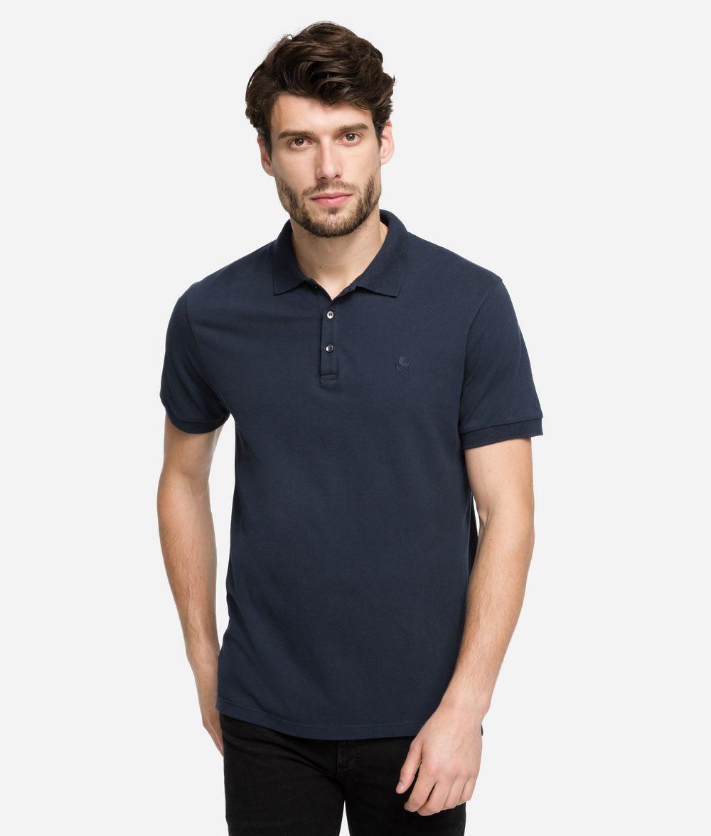 KARL LAGERFELD Logo polo T-shirt Man f