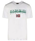 NAPAPIJRI SGREEN Short sleeve T-shirt Man a