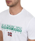 NAPAPIJRI SGREEN Short sleeve T-shirt Man e