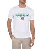 NAPAPIJRI SGREEN Short sleeve T-shirt Man f