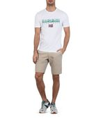 NAPAPIJRI SGREEN Short sleeve T-shirt Man r