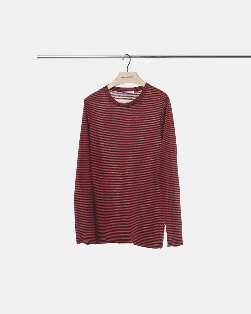LEIGHTON striped long sleeved T-shirt ISABEL MARANT