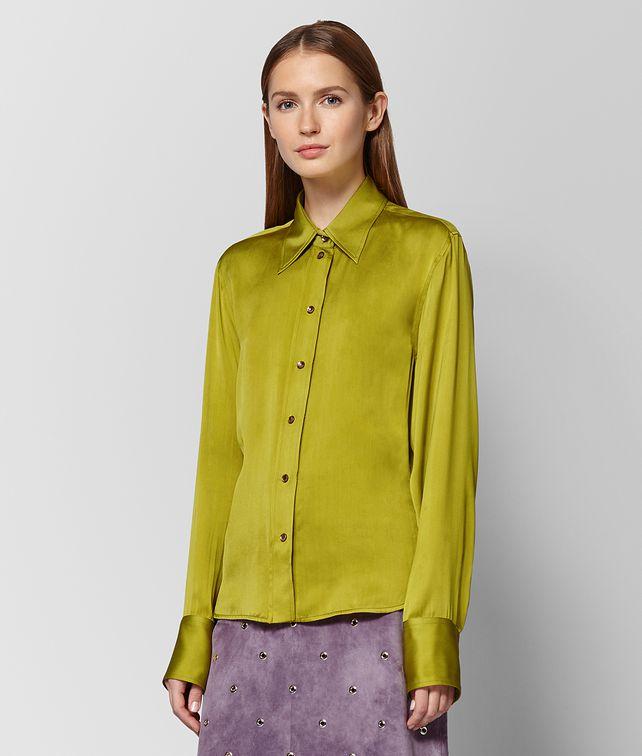 BOTTEGA VENETA CHAMOMILE SILK SHIRT Knitwear or Top or Shirt [*** pickupInStoreShipping_info ***] fp