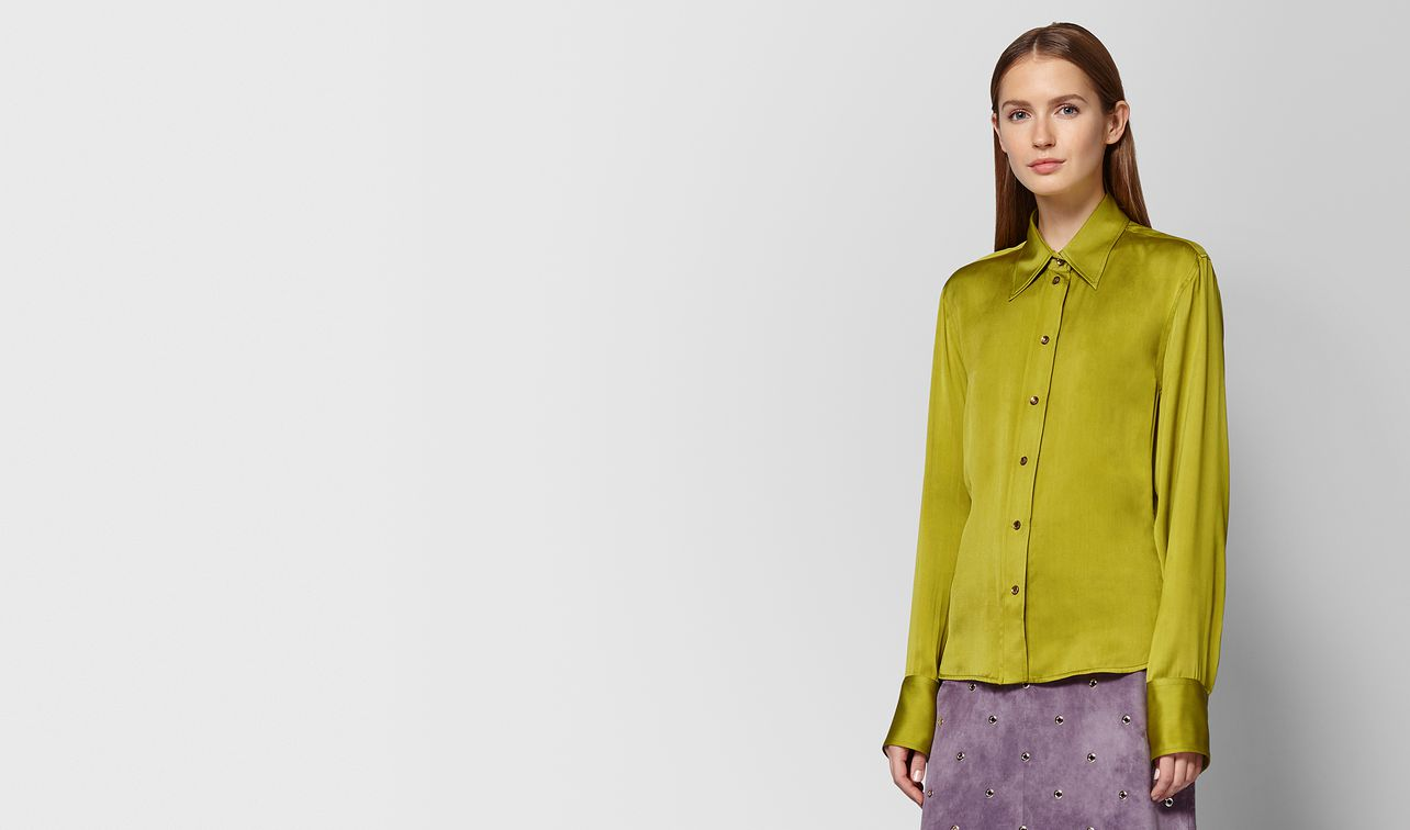 chamomile silk shirt landing