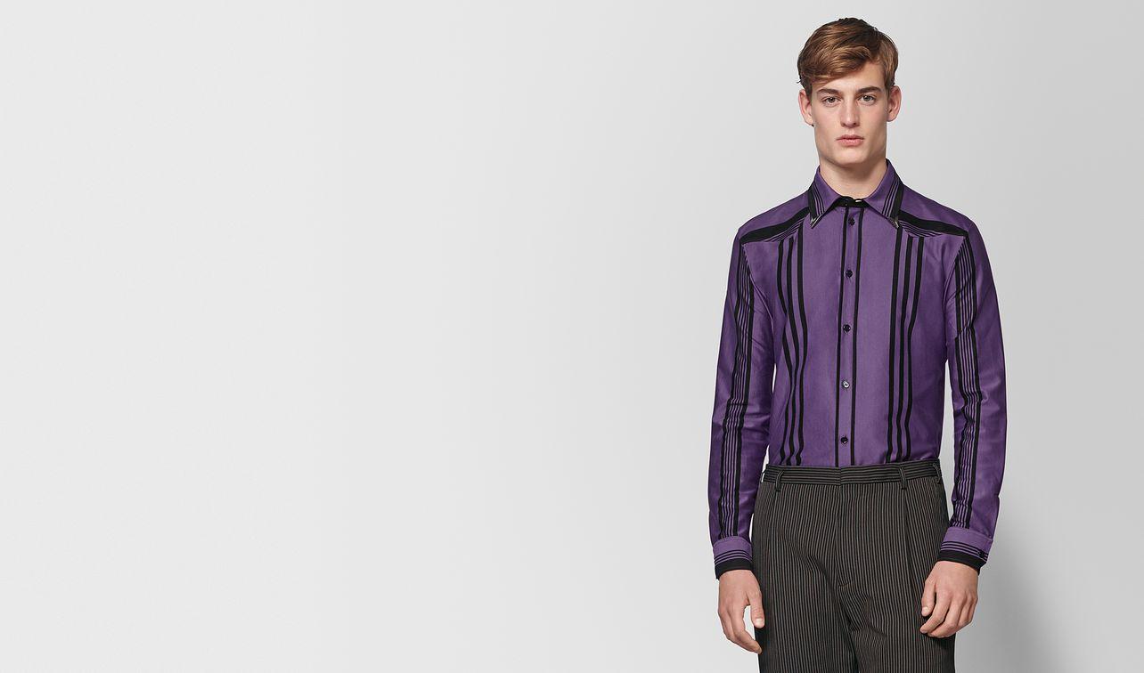 dark lilac nero cotton shirt landing
