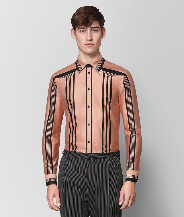 BOTTEGA VENETA DAHLIA NERO COTTON SHIRT Shirt Man fp