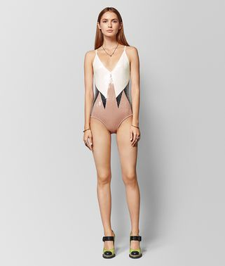 MULTICOLOR VISCOSE BODYSUIT