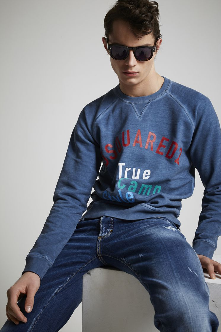 DSQUARED2 True Camp Style Sweatshirt Sweatshirt Man