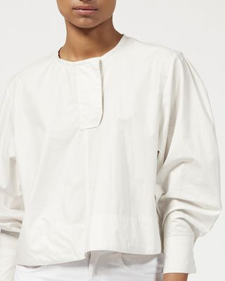 ISABEL MARANT TOP Woman MERLY cotton top  r