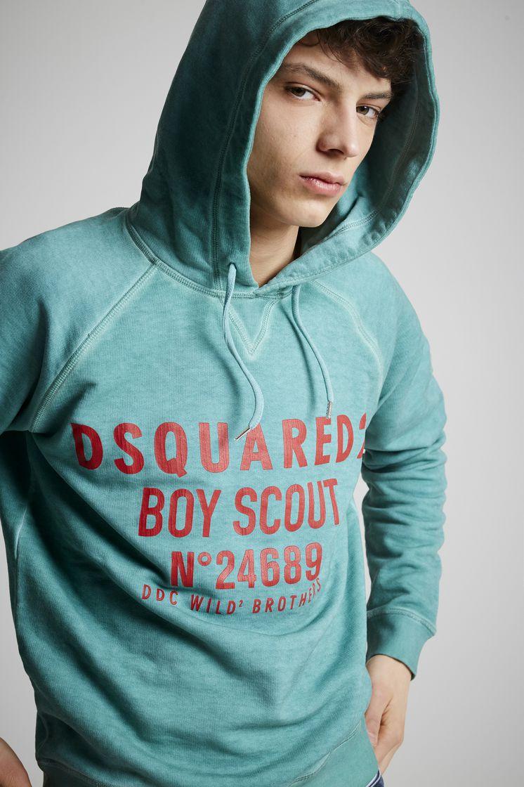 dsquared2 boy scout sweatshirt ライトグリーン メンズ