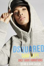 DSQUARED2 Surf Dept. Sweatshirt Sweatshirt Woman