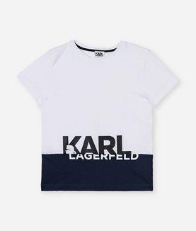 KARL LAGERFELD BIG LOGO TEE