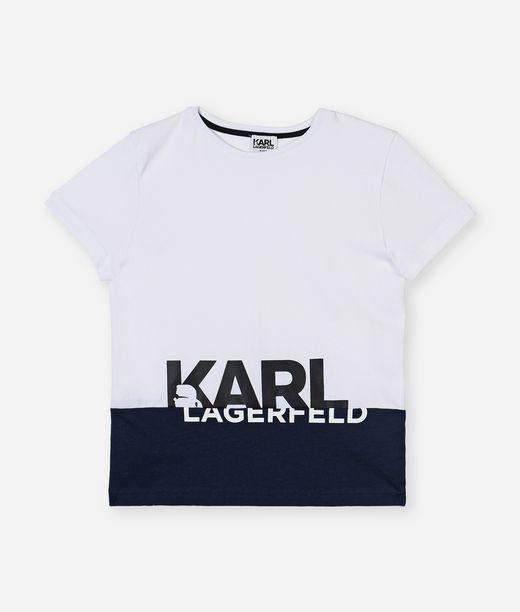 KARL LAGERFELD Big Logo Tee 12_f