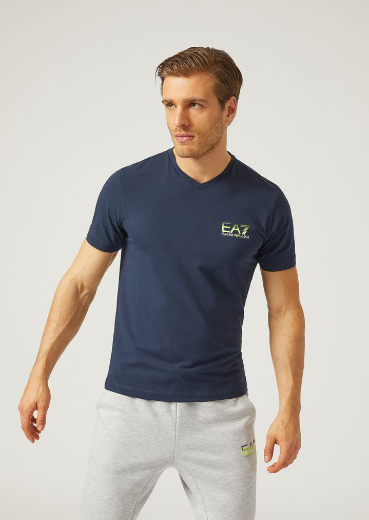 18f3c778bf T-shirt in stretch jersey | Man | Ea7