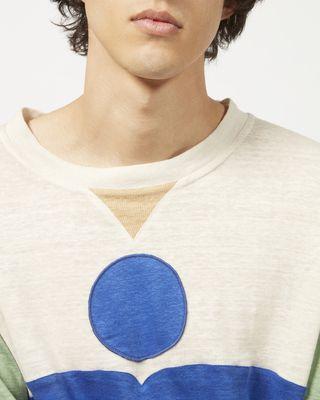 ISABEL MARANT T-SHIRT Man NEWIS long sleeved T-shirt r