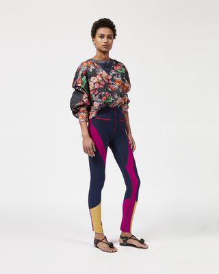 ZODILON floral sweatshirt