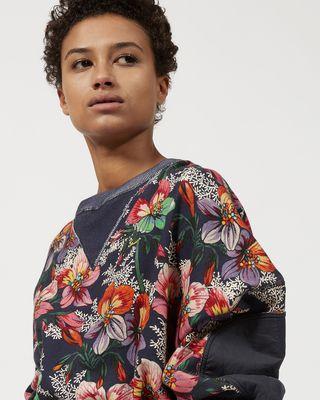 ISABEL MARANT SWEATSHIRT Woman ZODILON floral sweatshirt r