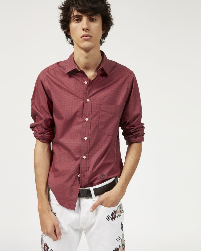 JASON checked shirt ISABEL MARANT