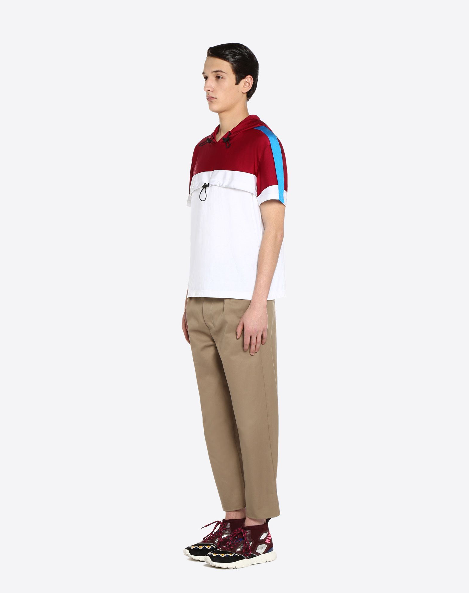 VALENTINO UOMO T-shirt with drawstring T-shirt U d