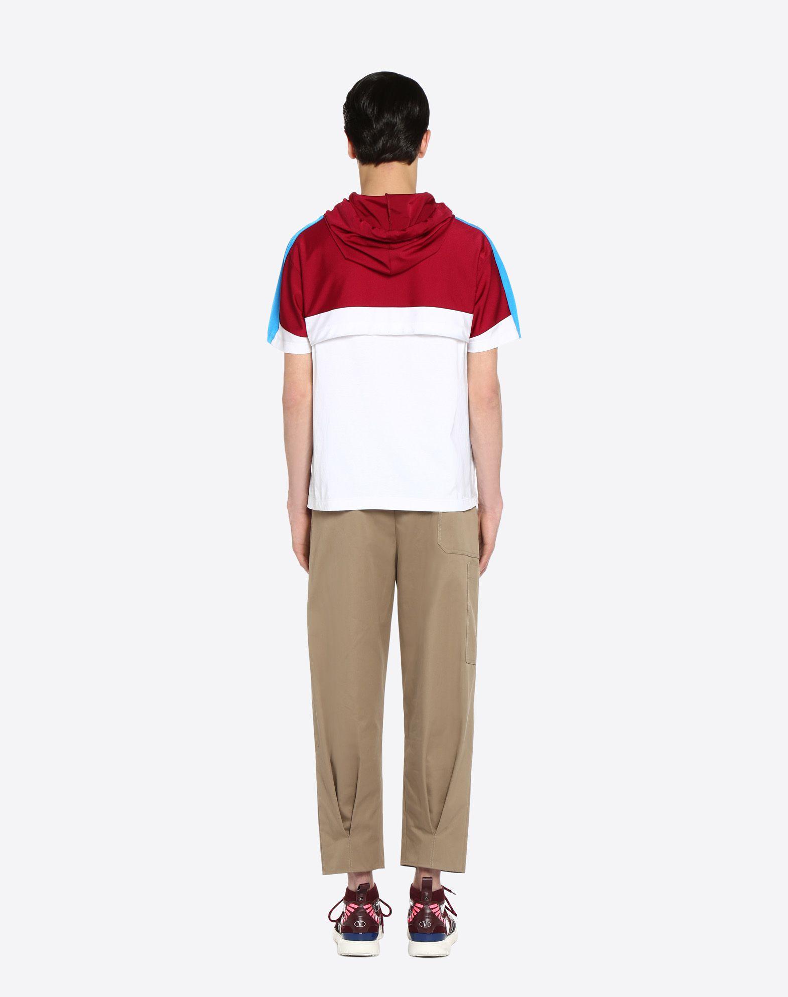 VALENTINO UOMO T-shirt with drawstring T-shirt U e