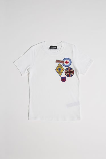 DSQUARED2 Short sleeve t-shirt E DQ02LWD00RIDQ100 b