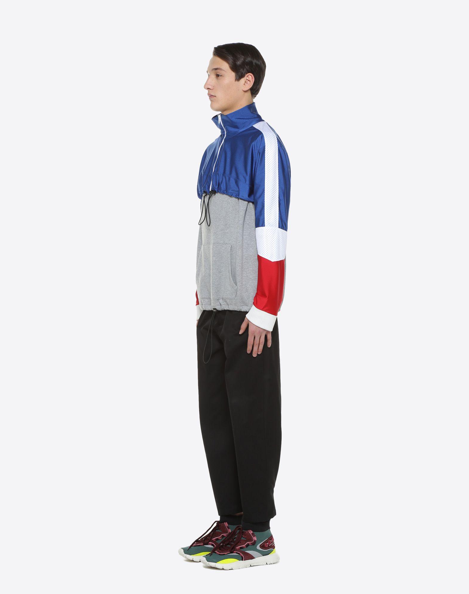 VALENTINO UOMO Drawstring sweatshirt Sweatshirt U d