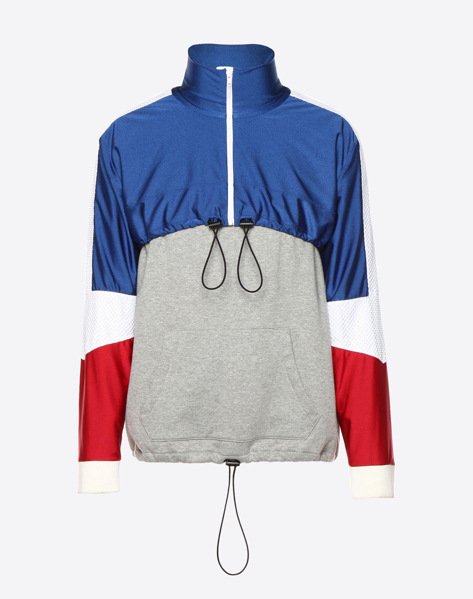 VALENTINO UOMO Drawstring sweatshirt Sweatshirt U f