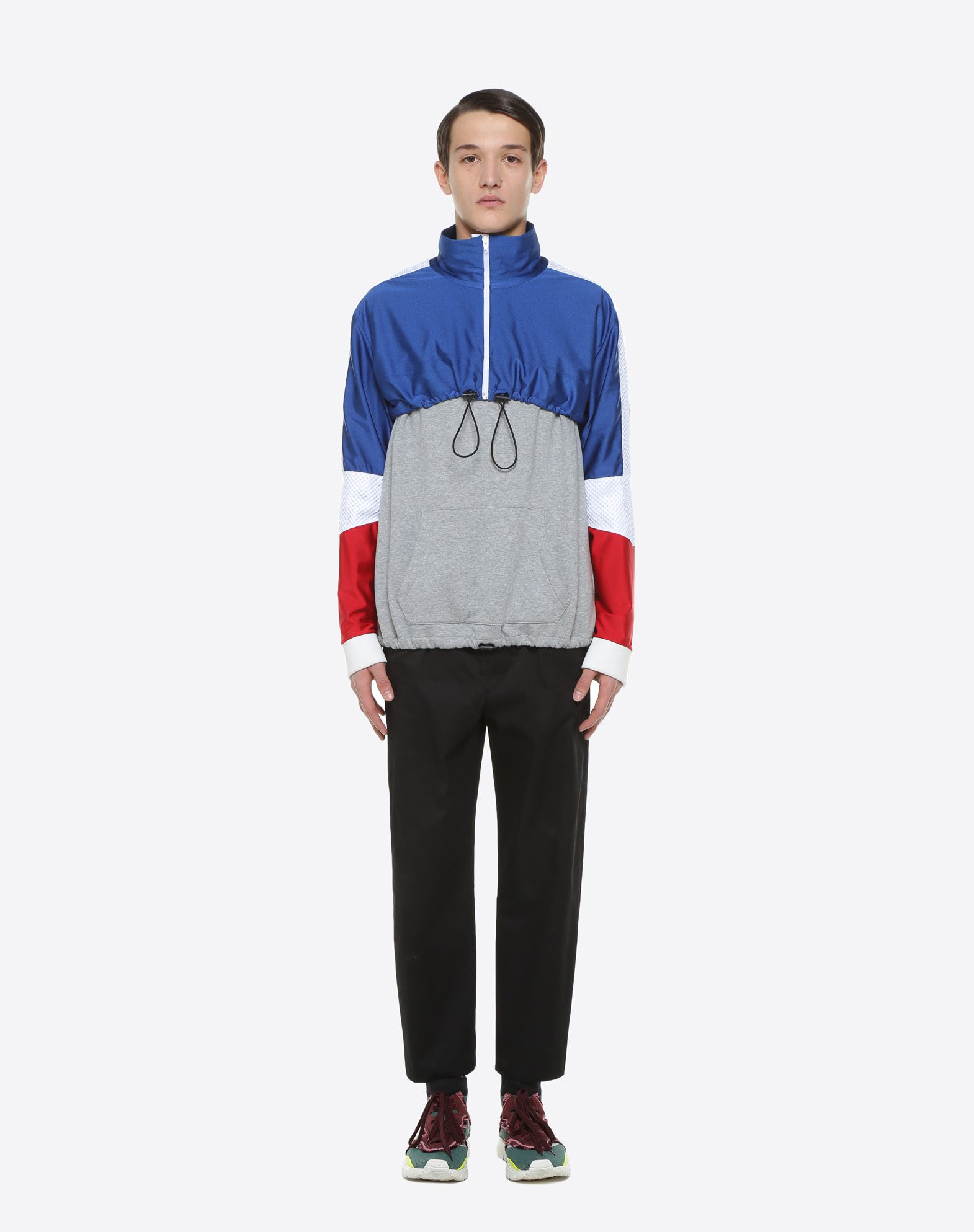 VALENTINO UOMO Drawstring sweatshirt Sweatshirt U r
