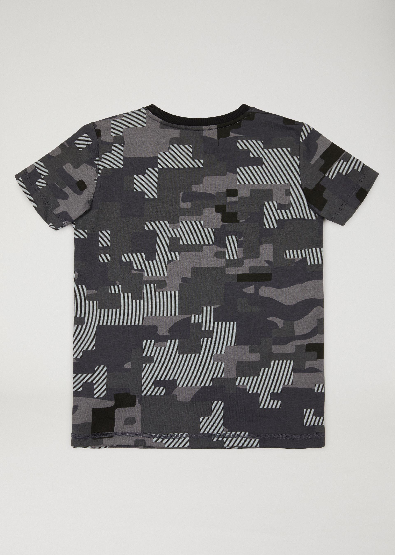 armani camo shirt