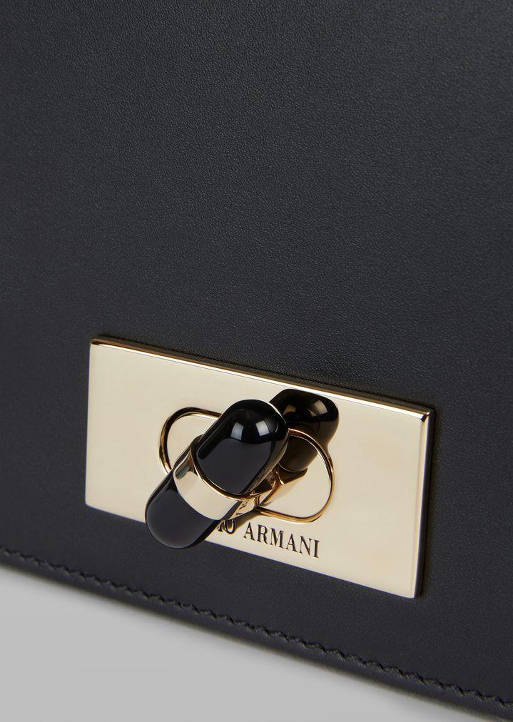 GIORGIO ARMANI Smooth leather shoulder bag Mini Bag Woman b