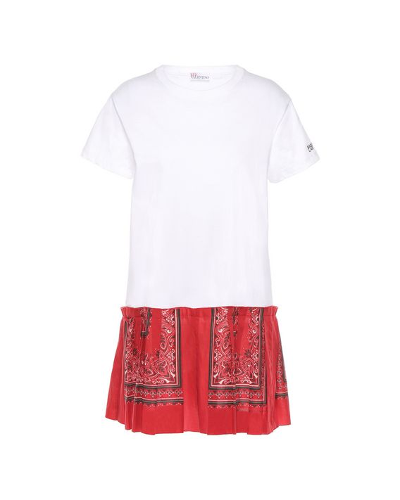 75fcace3e53e REDValentino Bandana Lab T Shirt Dress - Jersey Dress for Women ...