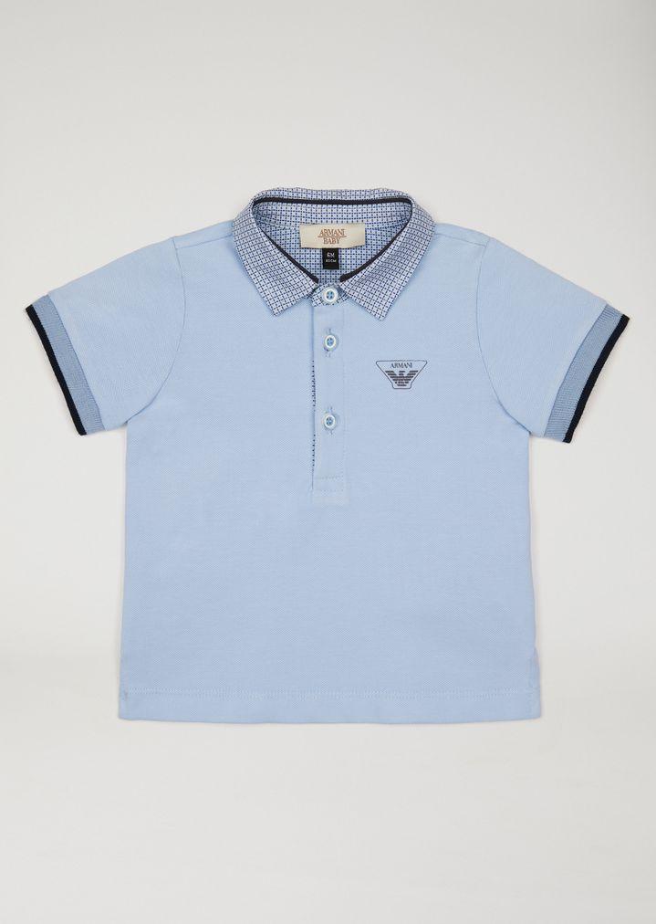 1d03aaad78 Polo shirt with shirt collar | Kid | Armani Junior