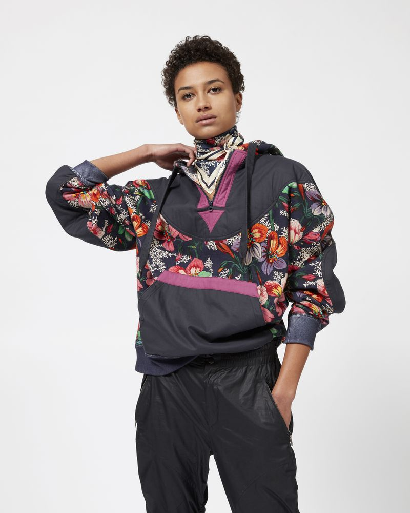 ZANSEL floral hooded sweatshirt  ISABEL MARANT