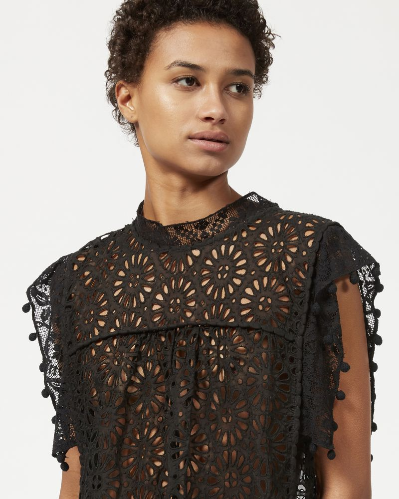 KERY top in broderie anglaise  ISABEL MARANT