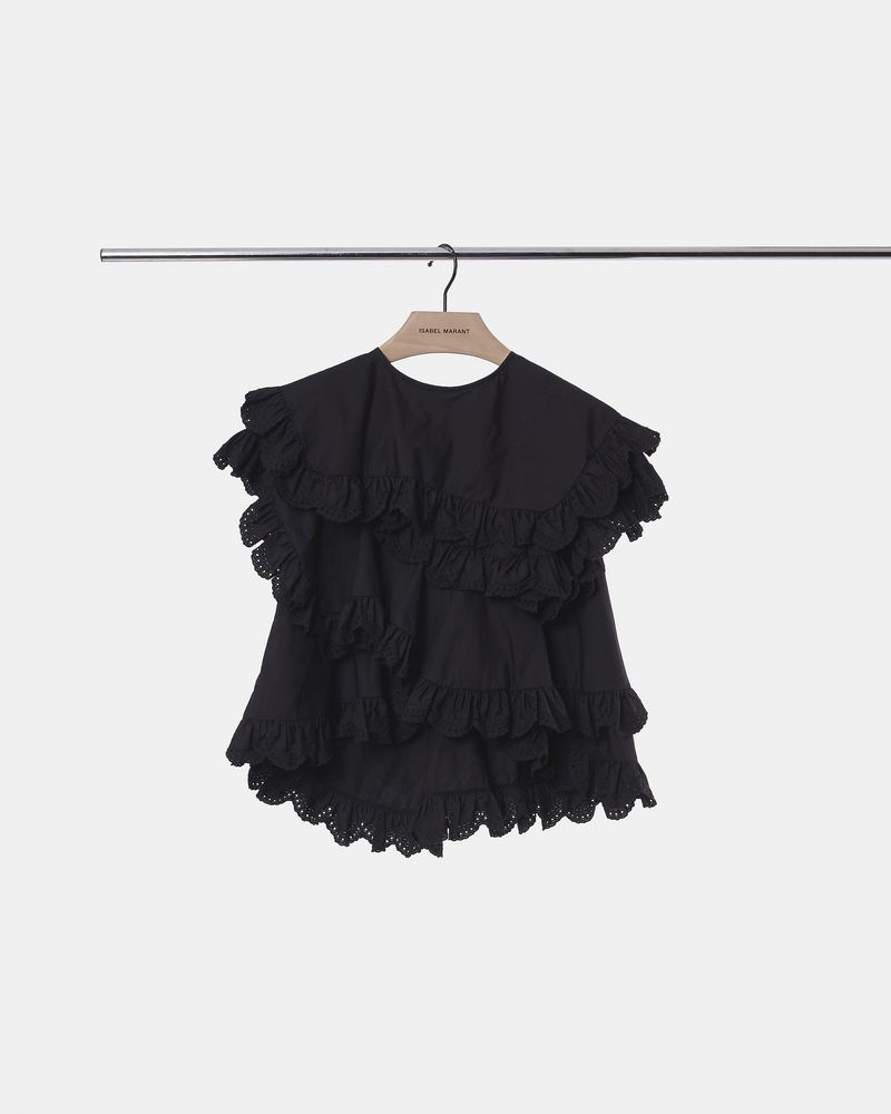 JOEY ruffle top  ISABEL MARANT