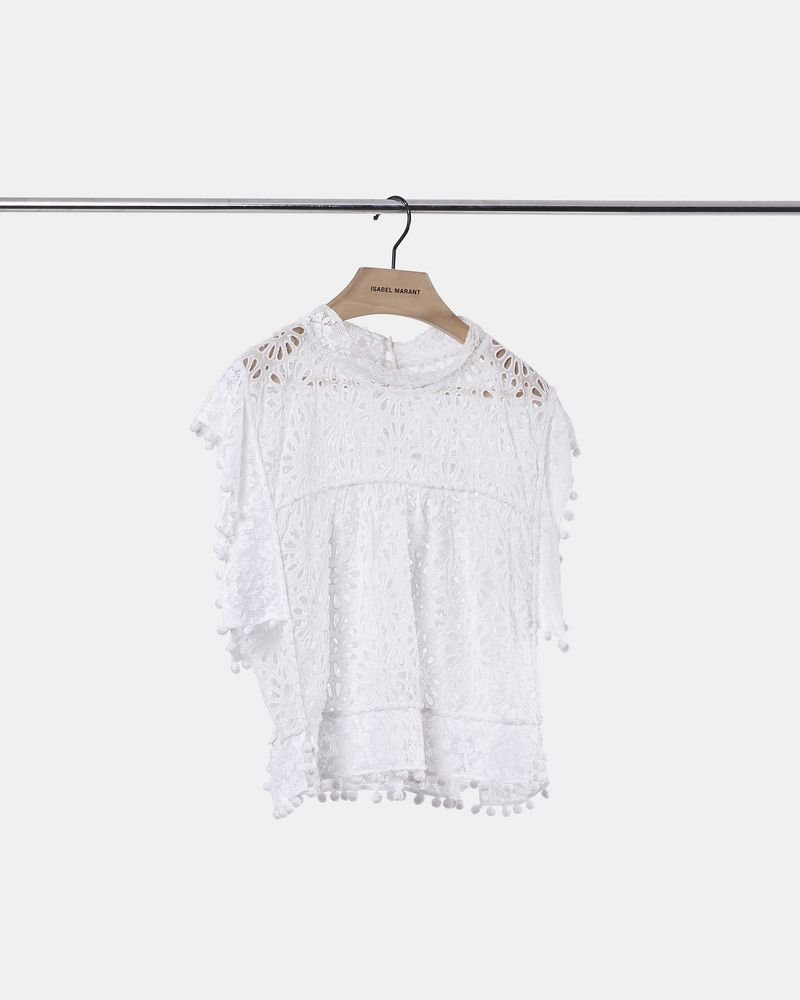 b69a85a470 ... KERY top in broderie anglaise ISABEL MARANT