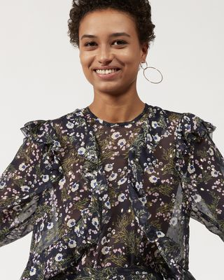 ISABEL MARANT SHIRT & BLOUSE Woman MUSTER ruffle top  r