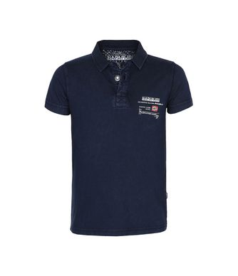 NAPAPIJRI K EGEGIK JUNIOR KID SHORT SLEEVE POLO,DARK BLUE