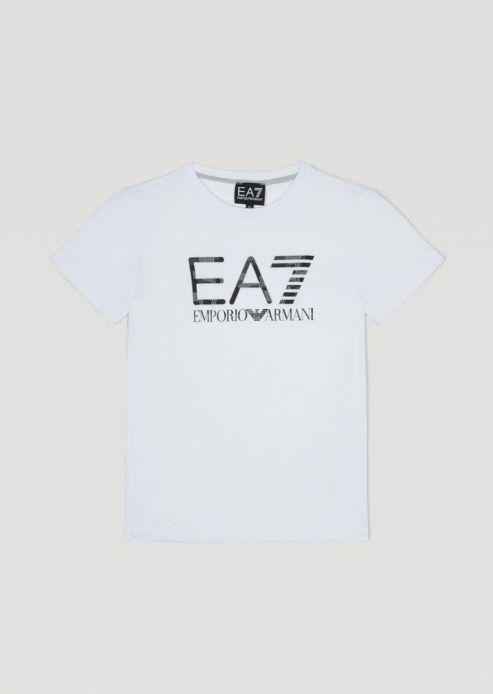 Jungen-T-Shirt mit Logo 6fca1264cf