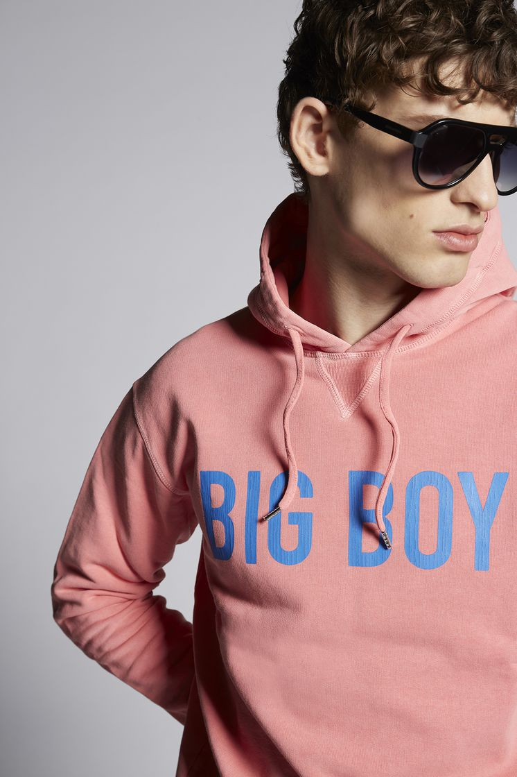 DSQUARED2 Big Boy Hooded Sweatshirt Sweatshirt Man