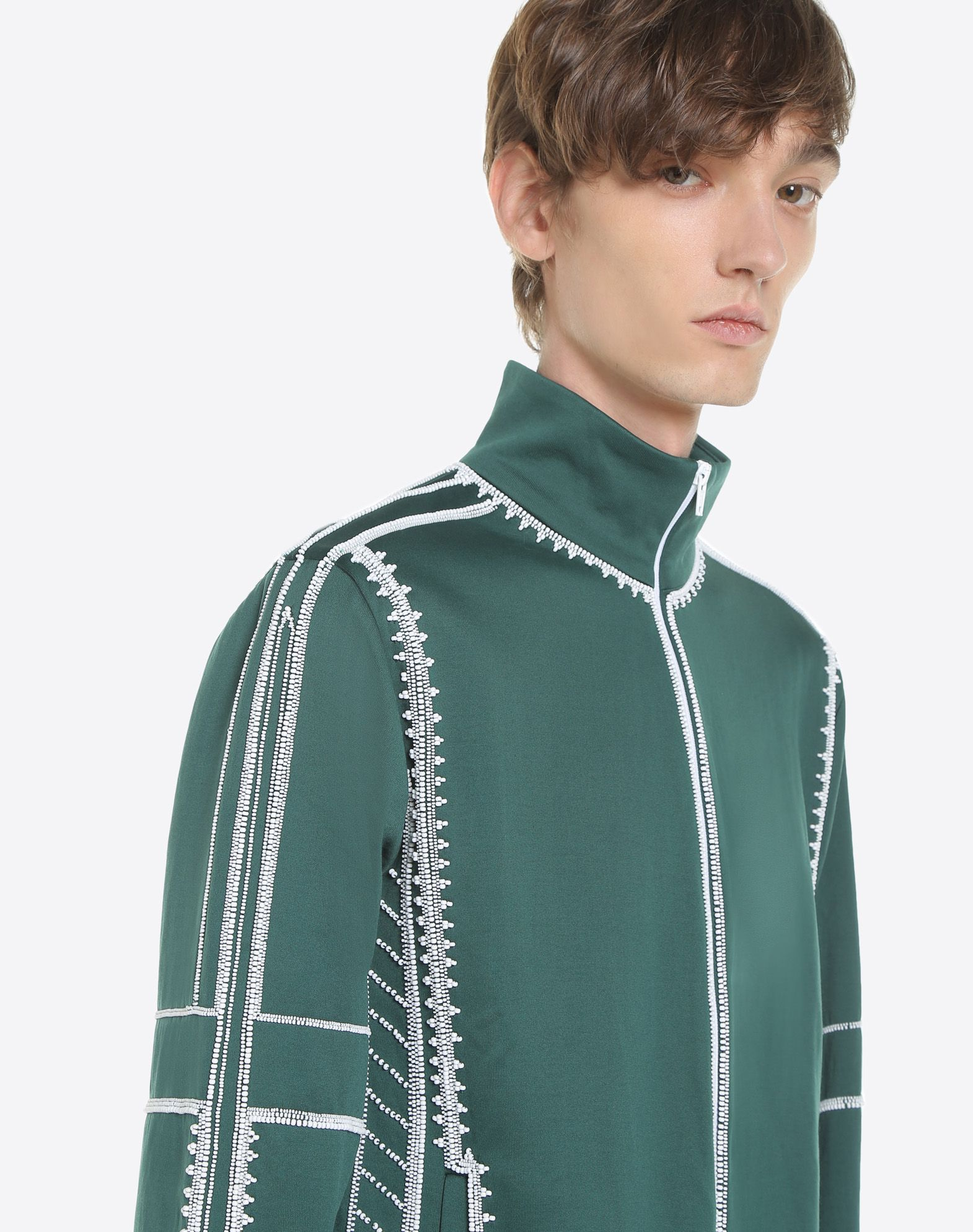 VALENTINO UOMO Sweatshirt with geometric embroidery Sweatshirt U a