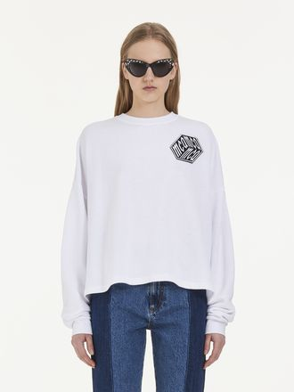 All-over McQ Cube Long Sleeve T-Shirt