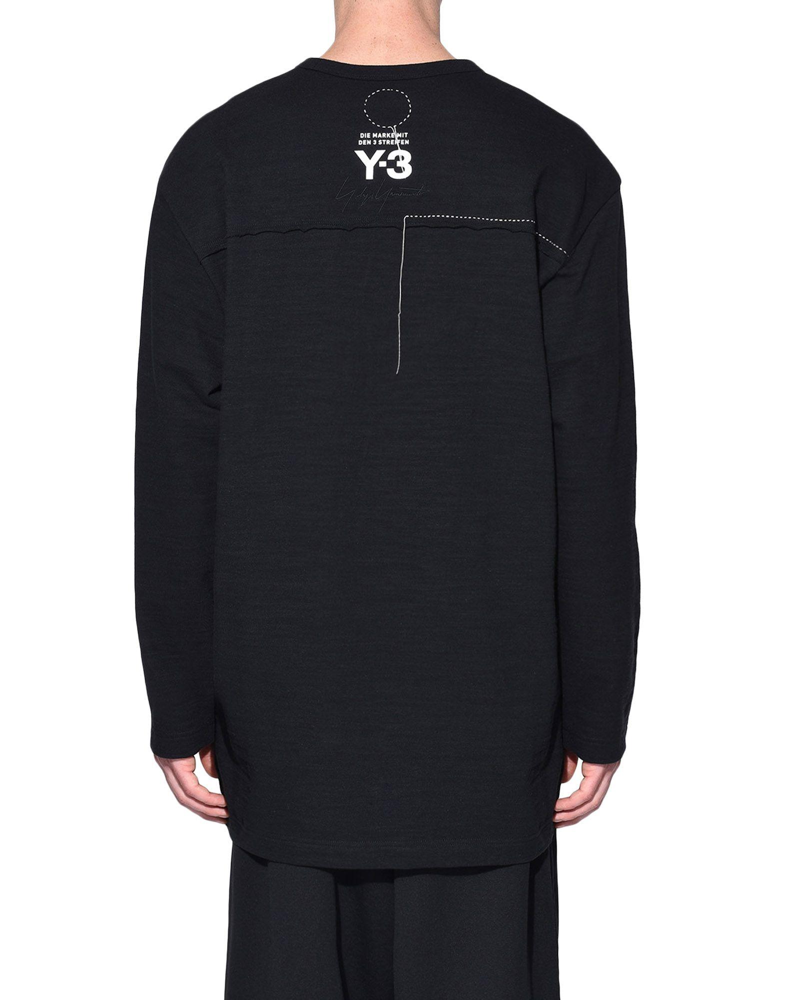 Y-3 Y-3 Sashiko Tee Long sleeve t-shirt Man d