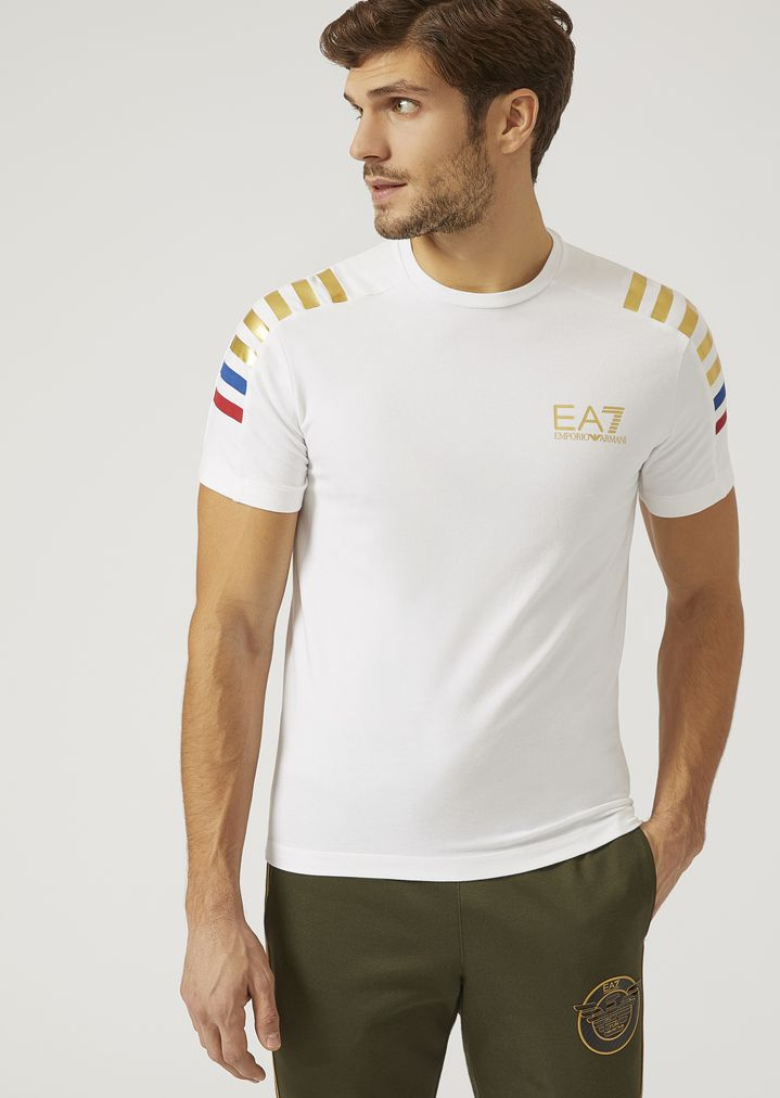 c8510e127a Stretch jersey T-shirt | Man | Ea7