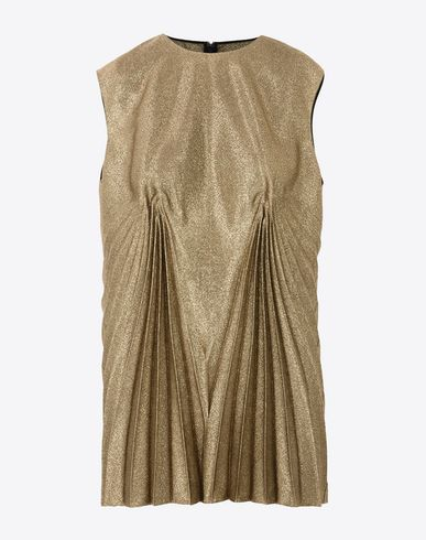 MAISON MARGIELA Top D Metallic pleated top f